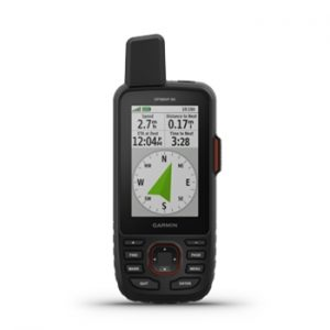 Garmin GPSMAP 66i GPS with Powered Mount and Case Bundle