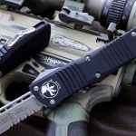 Buy Microtech Combat Troodon OTF Automatic Knife S/E 3.8″ Satin Drop Point 143-5