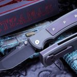 Buy Chaves Ultramar Redencion Street Purple Tumbled Inlay (3.25″ PVD Tanto)