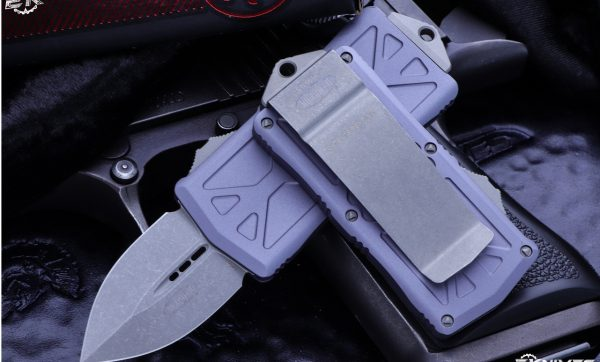 Buy Buy Microtech Exocet Gray Money Clip OTF Knife Cali Legal 1.9″ | Apocalyptic 157-10APGY