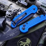Microtech LUDT Automatic Folding Knife Blue