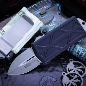 Buy Microtech Exocet Money Clip OTF Knife Cali Legal 1.9″ Stonewash 157-10