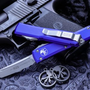 Buy Microtech Ultratech Purple OTF Automatic 3.4″ Tanto Stonewash 123-10PU