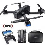 Buy Contixo F22 RC Drone With Camera Foldable Quadcopter Drone Gimbal 1080P HD Wide Angle Lens WiFi GPS Best Drone For Beginners