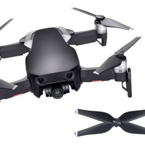 DJI – Mavic Air Fly More Combo Quadcopter with Remote Controller – Onyx Black