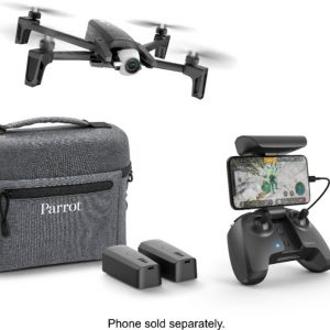 Parrot – ANAFI Extended Drone with Skycontroller – Dark Gray