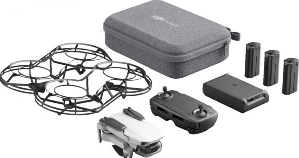 Buy DJI – Mavic Mini Fly More Combo Quadcopter with Remote Controller – Gray
